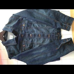 Dark Denim Jacket Old Navy